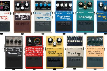 Best Guitar Amp Modeling Pedals (2018) | Guitar Pedals On