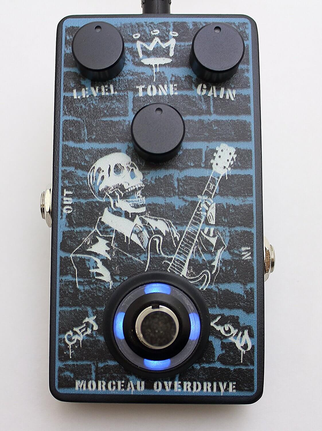 morceau m od 01 guitar overdrive effects pedal guitar pedals on the cheap. Black Bedroom Furniture Sets. Home Design Ideas
