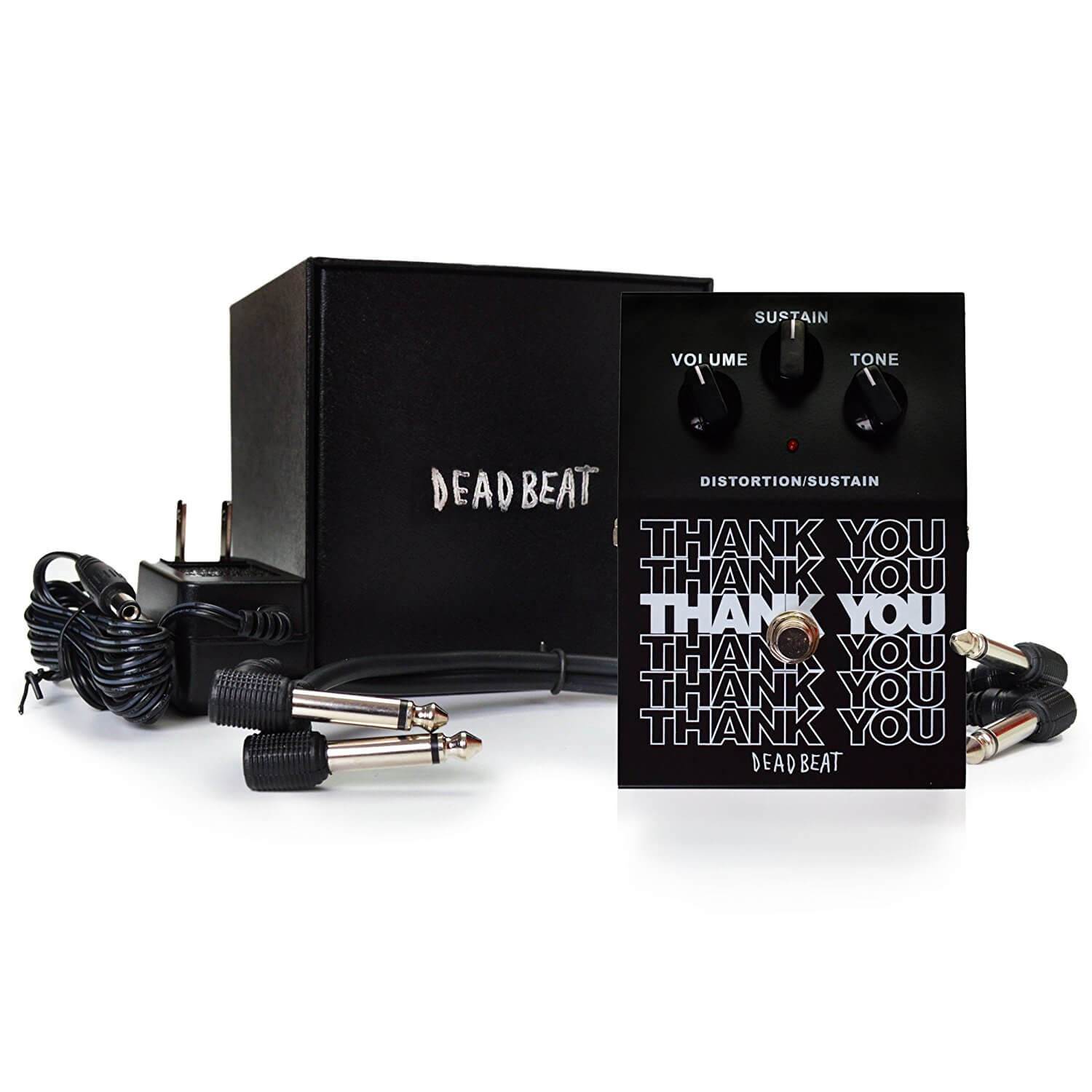 thank you distortion and sustain effect pedal by deadbeat sound review guitar pedals on the cheap. Black Bedroom Furniture Sets. Home Design Ideas