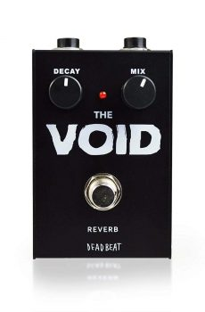 THE VOID Reverb Effect Pedal by Deadbeat Sound